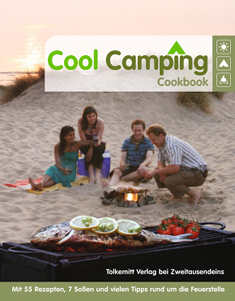 Cool Camping CookbookJonathan Knight u.a.160 Seiten, 150 farbige Abbildungen, ca. 17,90 Tolkemitt Verlag bei Zweitausendeins