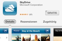 screenshot: appstore
