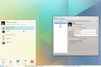 screenshot: kde
