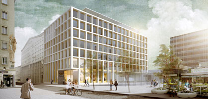 rendering: schenker salvi weber architekten zt gmbh / feld72 architekten zt gmbh