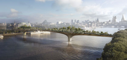 foto: garden bridge heatherwick studio view (c) arup