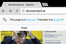 screenshot: andreas proschofsky / derstandard.at