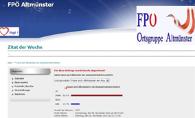 screenshot: fpö altmünster