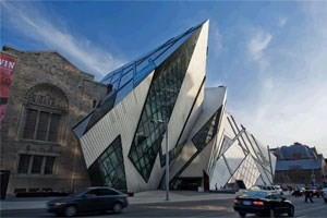 Das Royal Ontario Museum in Toronto (ROM).