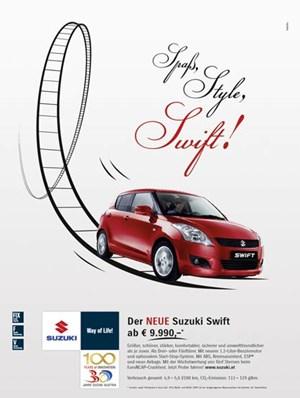 Suzuki Swift Ad Song