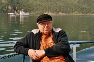 2004 am Baikalsee in Russland.