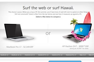 Microsoft-Mathematik: Mac = PC + Hawaii-Urlaub