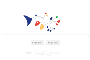 Das neue Google Doodle bewegt sich sanft im Wind