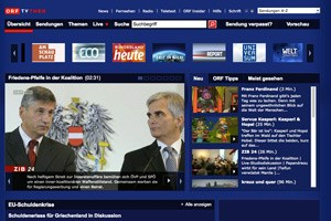 Private gegen Werbung auf ORF-&quot;TVthek&quot;