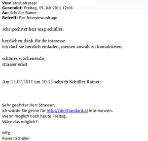 Interviewversuch Nr. 1