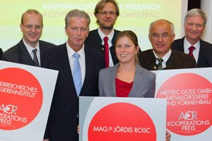 Rosc ist eine von sehr wenigen Frauen, die sich in die Gieereitechnik vorgewagt haben. Am OGI hat Rosc eine Kollegin und 33 Kollegen.