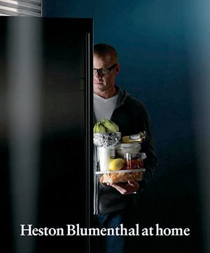 """Heston Blumenthal at Home"", Bloomsbury 2011, 408 S, in englischer Sprache, € 45,99"