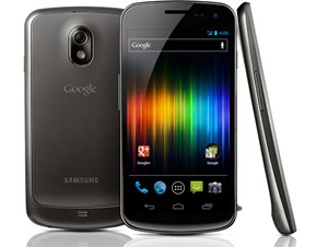"Das Galaxy Nexus, Googles neuestes ""Lead Device"" in Sachen Android."