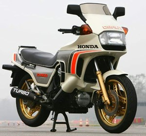 Honda CX650 Turbo  3