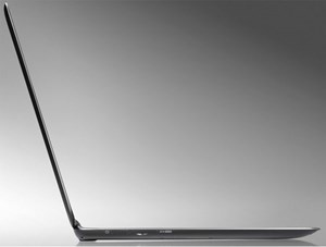 Mit 15 mm das flachste 13,3-Zoll-Ultrabook.