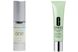 ageLine wo/man Eylifting Serum neu bei Nägele & Strubell (199 Euro)Clinique Age Defense Eye Cream (38,50 Euro)