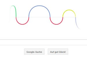 Google Doodle ehrt Heinrich Hertz
