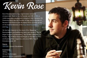 Kevin Rose wechselt zu Google 