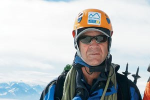 Sir Ranulph Fiennes, &quot;Brand Ambassador in Chief&quot; und Bergkamerad.