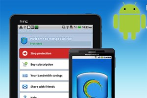 Ab sofort in Google Play: Hotspot Shield.
