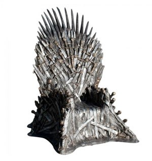 Der &quot;Iron Throne&quot; frs Wohnzimmer. 