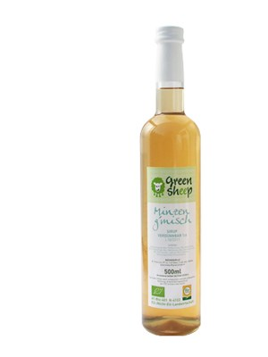 Green Sheep Minzblütensirup, €7,90 z.B. bei Staudigl, Wollzeile 25, 1010 Wien, www.greensheep.at