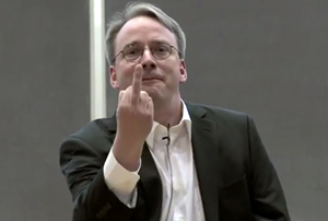Linus Torvalds ist von Nvidia sichtlich genervt.