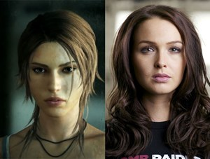 Lara Croft, Camilla Luddington