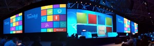 TechEd 2012 Keynote. Auch dieses Jahr hat die TechEd wieder 7000 Bsucher anlocken knnen.