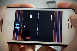 Pong auf dem iPhone