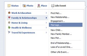 Life Events der neuen Facebook-Timeline