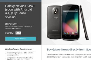 Mittlerweile wird das Galaxy Nexus wieder in der US-Variante des Google Play Stores gelistet - allerdings mit einer Wartezeit von 1-2 Wochen.