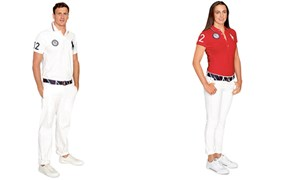 Jene der USA in Ralph Lauren.
