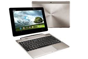 Asus Transformer Pad Infinity mit Docking-Tastatur 