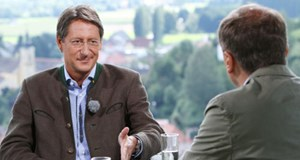 ORF-&quot;Sommergesprche&quot;: Josef Bucher war der erste Gast bei Armin Wolf.