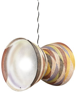 """Double basket lamp"""