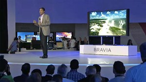 Der neue &quot;Bravia&quot; hat eine Auflsung von 3840 x 2160 Pixel