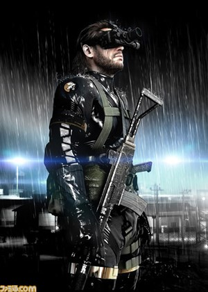 "Ein Artwork zu ""Metal Gear Solid: Ground Zeroes"""