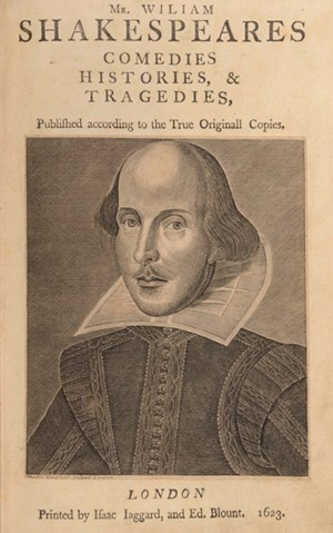 William Shakespeare (April 1564 - April 1616).