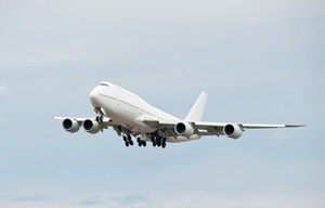Die Boeing 747-8 wird auf der Messe zu sehen sein.&#xD;&#xA;Infos: ILA Berlin, vom 11. bis 16. September