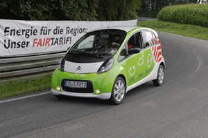 Ein Konkurrent bei der Wave: Citron C-Zero aus Osnabrck.