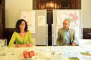 ... Christine Spieß, Projektleiterin für die Stadt Wien, und ihre fünf Mitarbeiter (im Bild Nikolaus Summer).