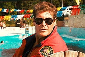 "David Hasselhoff in ""Piranha 3DD""."