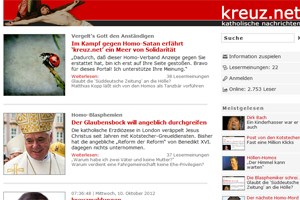 Seit Jahren sorgt kreuz.net fr Aufregung im Netz. Jetzt gibt es sogar ein &quot;Kopfgeld&quot; und eine Anfrage an das Innenministerium.