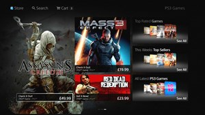 Das neue Design des PlayStation Stores
