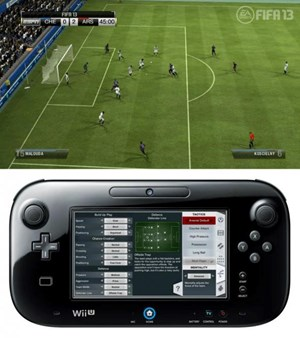Im Mehrspielermodus kann der Gamepad-Spieler den Manager mimen.