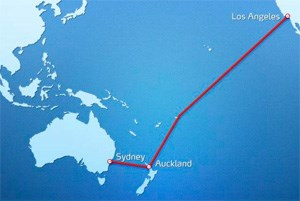 Das Tiefseekabel wrde ber Auckland weiter nach Australien verlegt werden