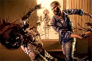 The Walking Dead&#xD;&#xA;Fr: PC, MacOS, PS3, Xbox 360, iOS&#xD;&#xA;Von: Telltale Games&#xD;&#xA;Ab: 18 Jahren&#xD;&#xA;UVP: 25 Euro (alle fnf Episoden zusammen)