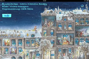 Auch fr Kinder gibt es Adventskalender fr Tablets und Smartphones