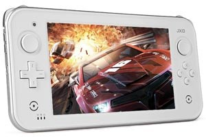Sieht aus wie der Wii-U-Controller, ist aber keiner: Das JXD GamePad 2.